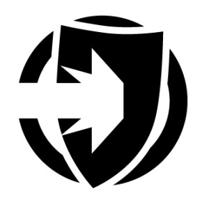 The Defend action logo from Fate Core