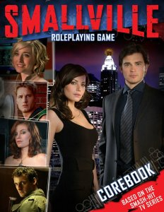 Smallville Roleplaying Game Corebook cover