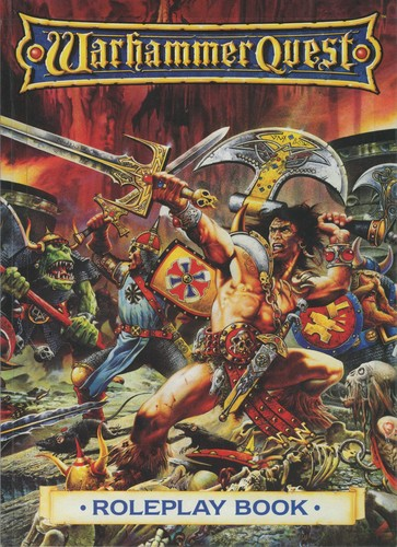 Cover of the Warhammer Quest Roleplay Book