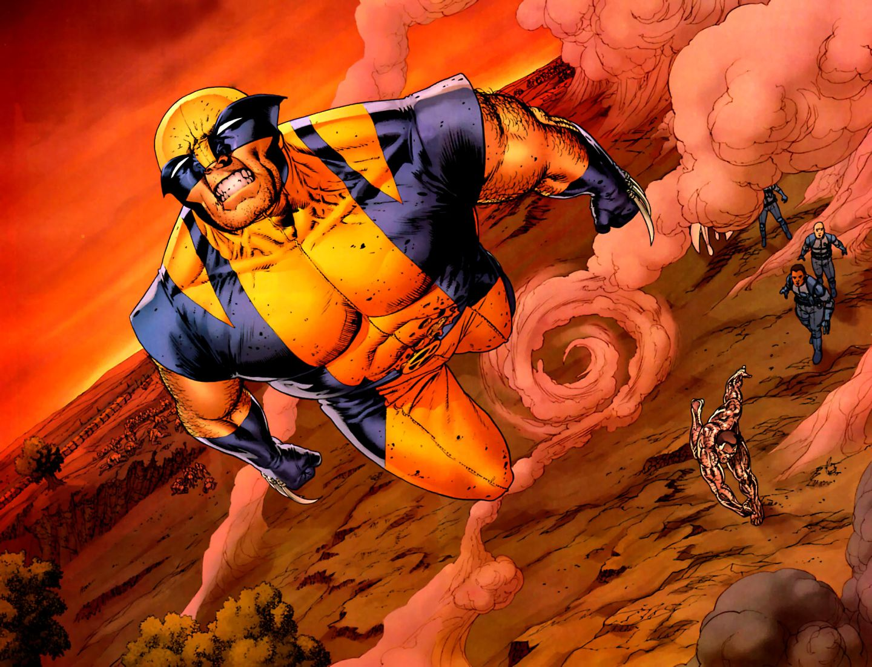 Fastball Special from Astonishing X-Men #6. Art by John Cassaday.