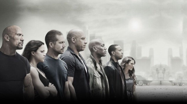 Cast of Fast & Furious 7, from furious7.com