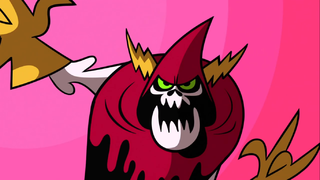 Lord Hater from the opening of Wander Over Yonder, via the Wander Over Yonder Wiki