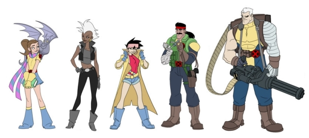 x_men_lineup_by_americanninjax_reordered