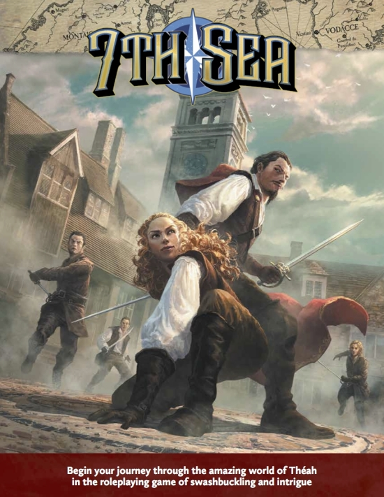 7th Sea (2nd edition) cover