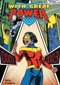 Cover of With Great Power (Master Edition), art by M. P. O'Sullivan