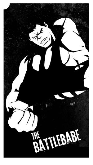 Hulk as The Battlebabe, by Melissa Trender (melissatrender.com)