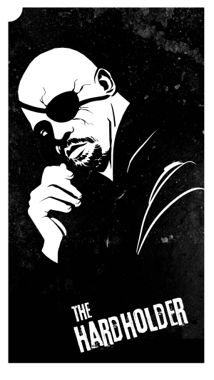 Nick Fury as The Hardholder, by Melissa Trender (melissatrender.com)