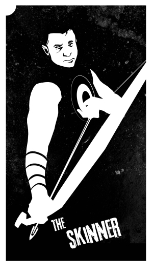 Hawkeye as The Skinner, by Melissa Trender (melissatrender.com)
