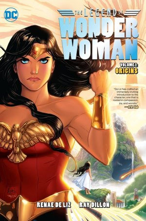 Legend of Wonder Woman cover by Renae de Liz and Ray Dillon