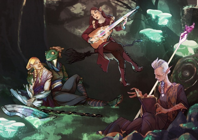 D&D Party by Melissa Trender